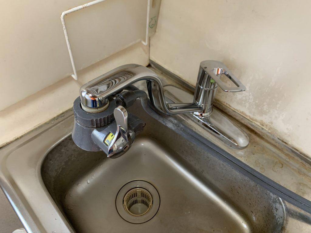 渋川市 トイレリフォーム・流し台水栓交換