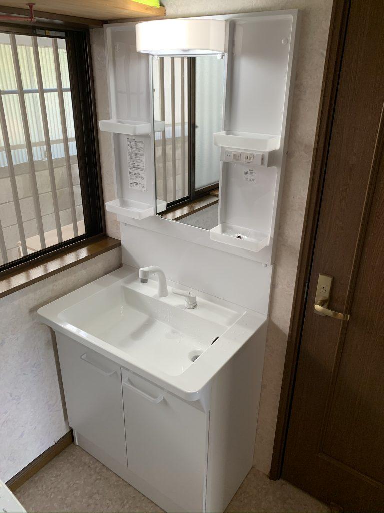 渋川市 洗面台リフォーム