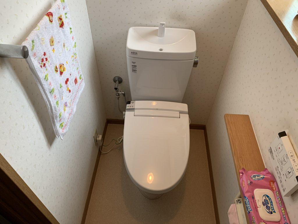 渋川市 1階・2階トイレリフォーム