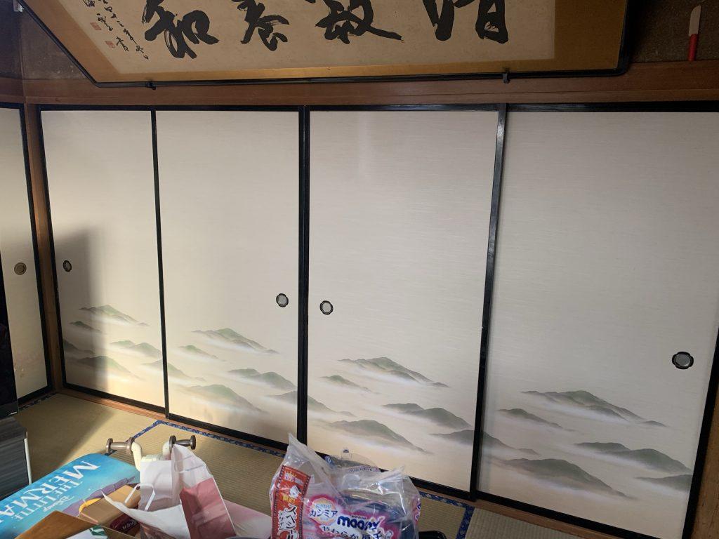 吉岡町 襖張替え  -リフォームモリハウスー