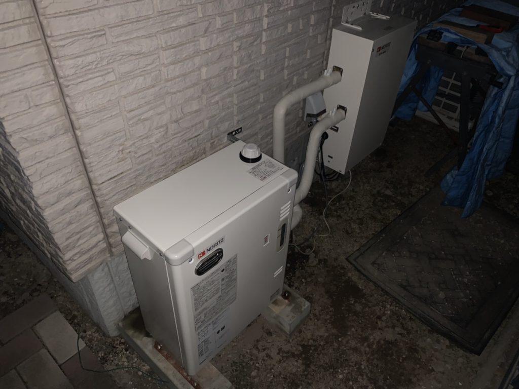 渋川市 石油温水暖房専用熱源機交換・石油給湯器交換工事             -リフォームモリハウスー