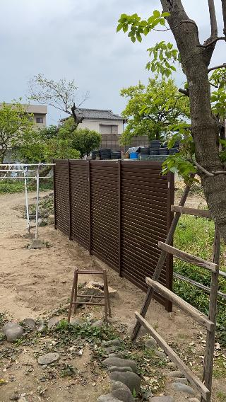 渋川市 スクリーンフェンス工事 -リフォームモリハウスー