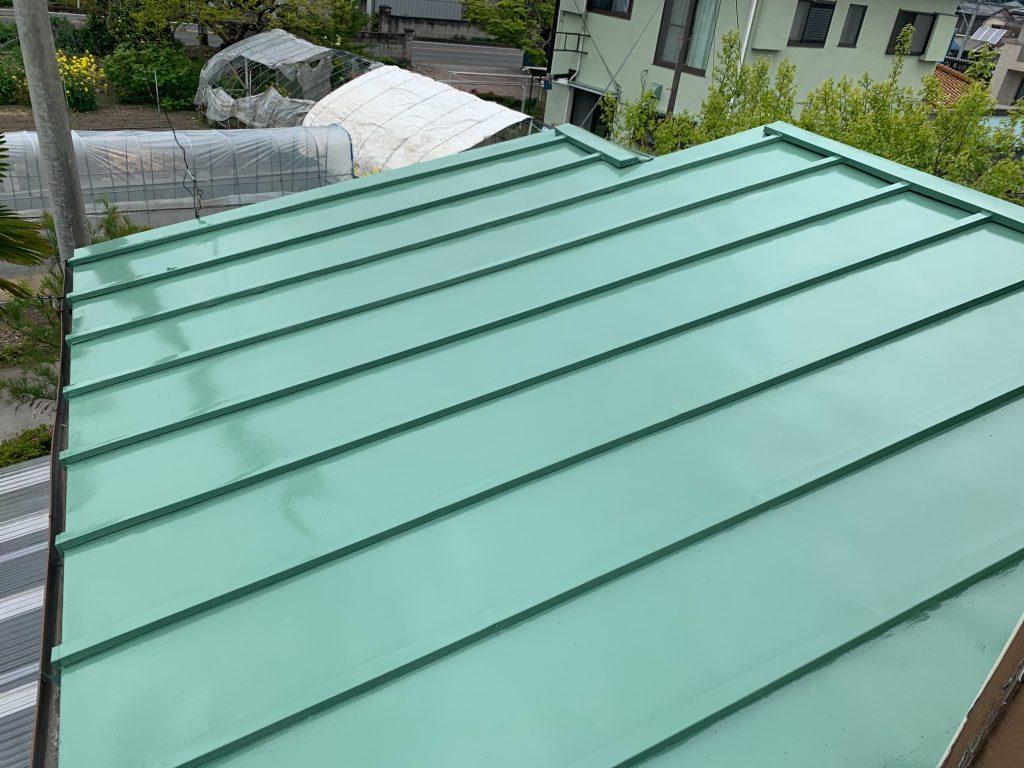 渋川市 屋根塗装・テラス工事 -リフォームモリハウスー