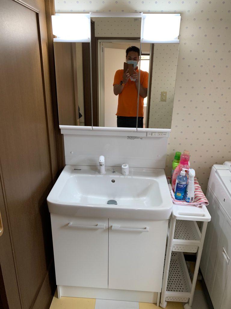 渋川市 洗面台・トイレ工事 -リフォームモリハウスー