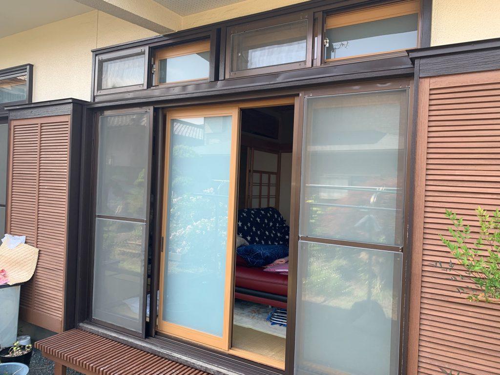 渋川市 内窓工事 《プラマードU》 -リフォームモリハウスー
