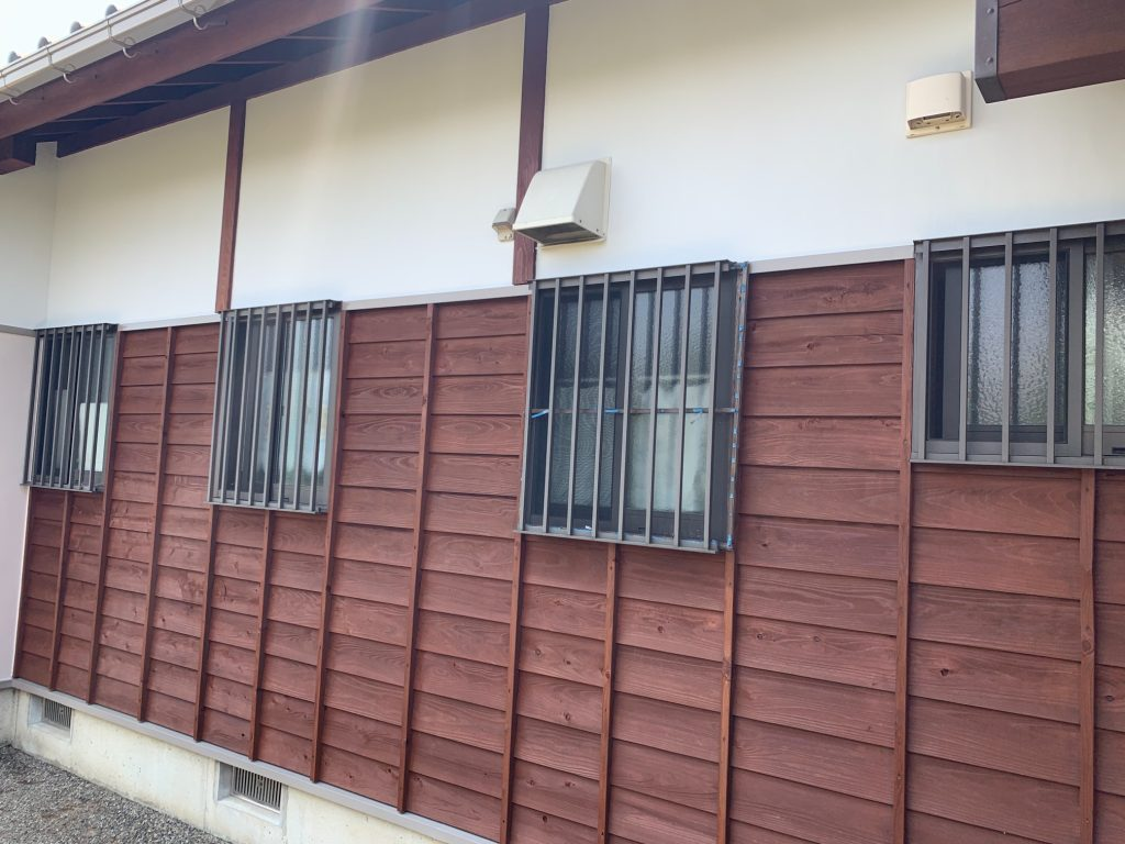 渋川市 外部改修工事 -リフォームモリハウスー