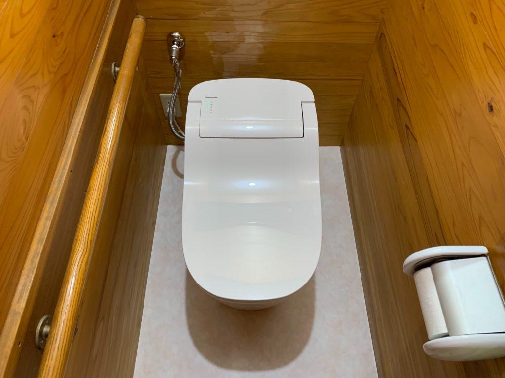 渋川市 トイレ工事 《パナソニック アラウーノ》 -リフォームモリハウスー