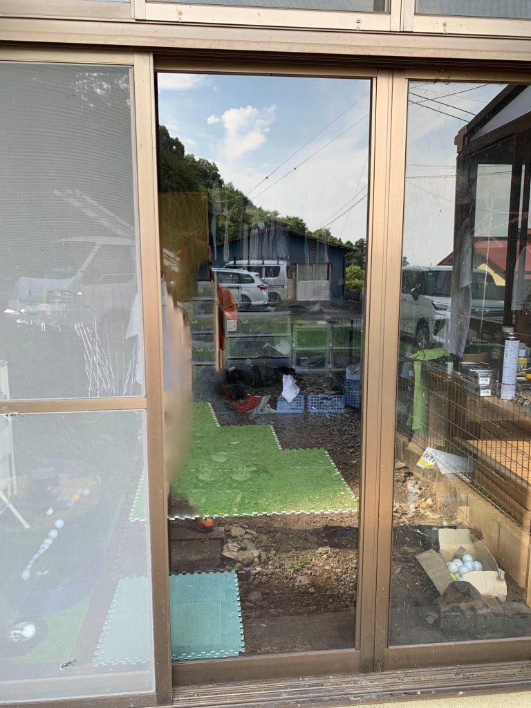 渋川市 ガラス交換工事 -リフォームモリハウスー