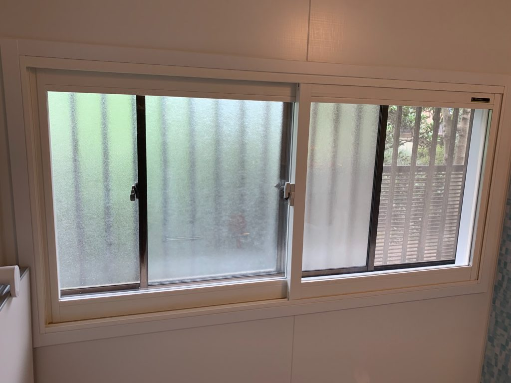 渋川市 浴室内窓工事 -リフォームモリハウスー
