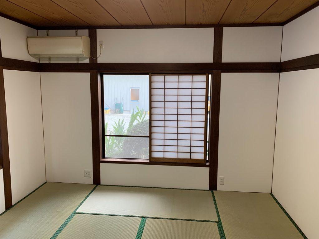 渋川市 居間内装工事 -リフォームモリハウスー