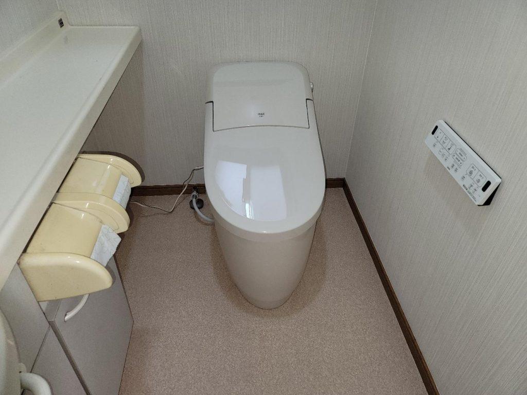 渋川市 トイレ工事 《リクシル プレアスLS》 -リフォームモリハウスー