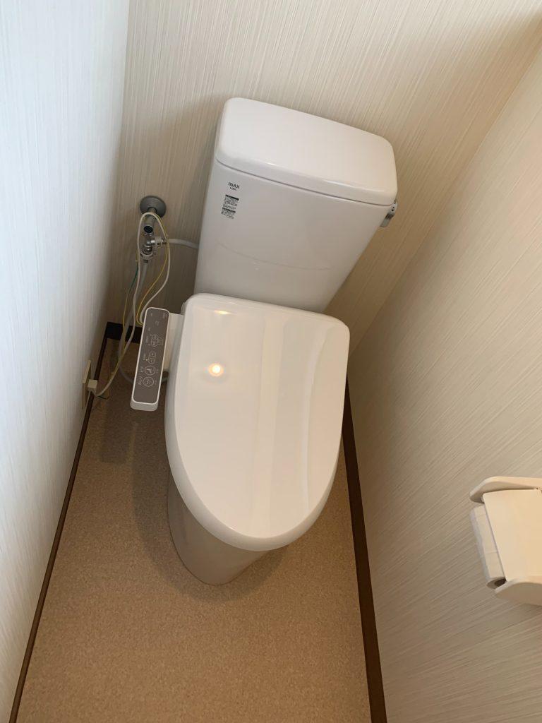 渋川市 トイレ工事 《リクシル アメージュZ+シャワートイレD》 -リフォームモリハウスー