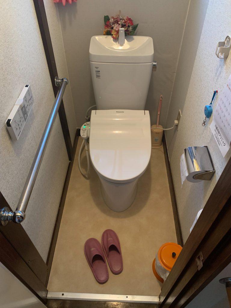 渋川市 トイレ工事 《リクシル アメージュZ》 -リフォームモリハウスー