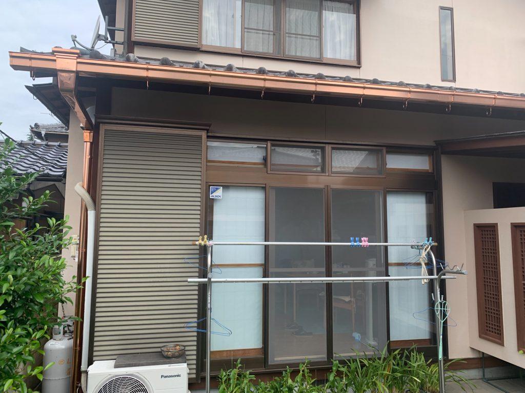 渋川市 雨樋工事 -リフォームモリハウスー