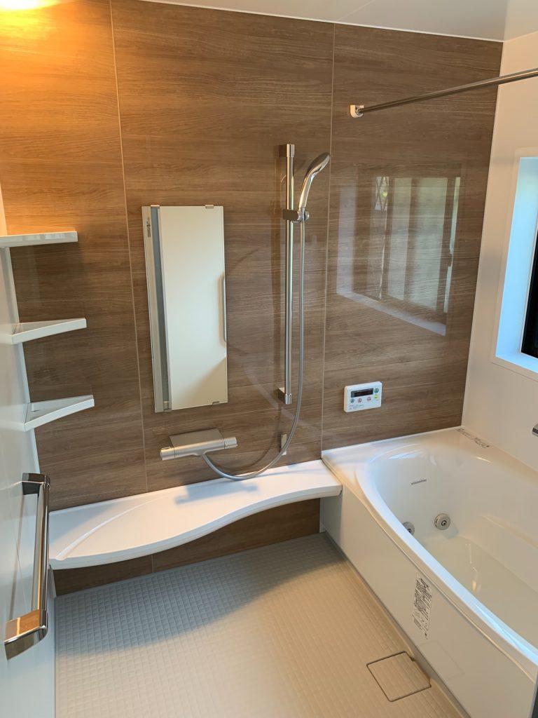 渋川市 浴室・脱衣室工事 《リクシル アライズ》 -リフォームモリハウスー