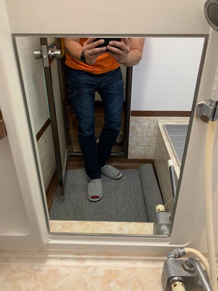 渋川市 浴室鏡交換工事 -リフォームモリハウスー