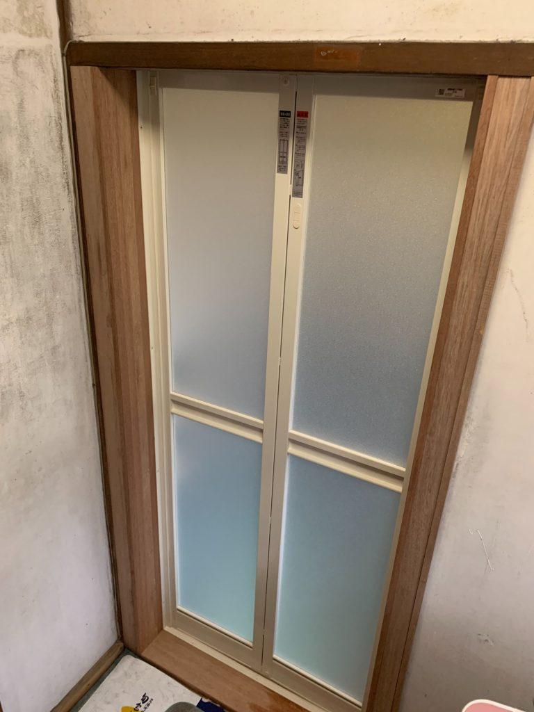 渋川市 浴室入口工事 -リフォームモリハウスー